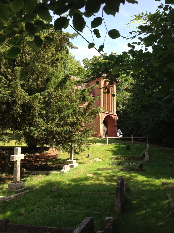 Cemetery Chapel near the Watts Gallery