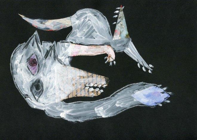 Picasso dog a la Carla Sonheim