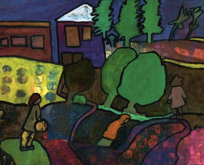 imaginary landscape by Catherine Redmayne