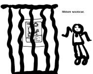hidden woodcut